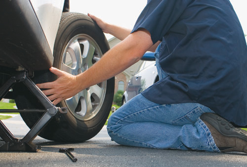 How-to-change-a-flat-tire
